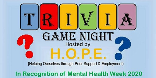 HOPE's Trivia Game Night Fundraiser
