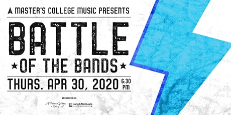 Master's College Battle of the Bands 2020 billets