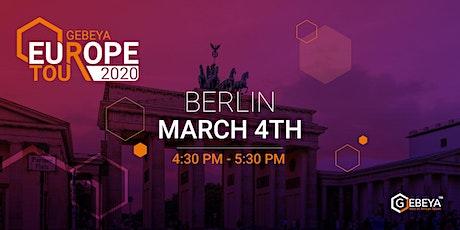 Gebeya Europe Tour - BERLIN tickets