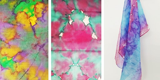 Silk Scarf Painting with Fiona Hermse