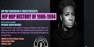 Hip-Hop History with Queen Michelle   Using Hip-Hop as a Literacy Building