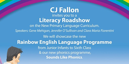 CJ Fallon - Literacy Roadshow with Gene Mehigan & Clara Maria Fiorentini