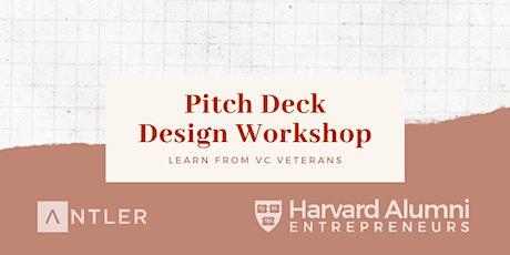 Harvard Alumni Pitch Deck Workshop tickets