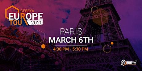 Gebeya Europe Tour - Paris tickets