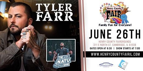 Tyler Farr with NATU Band tickets