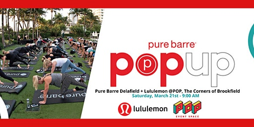 Pure Barre Delafield Pop-Up Workout with Lululemon and The Corners