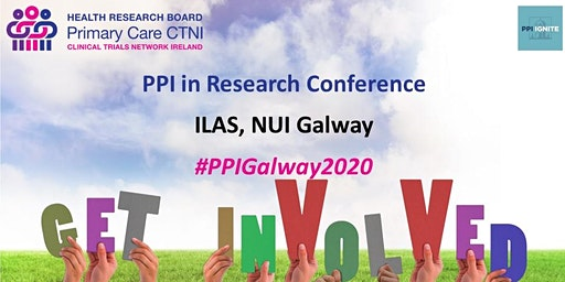 Public and Patient Involvement (PPI) in Research conference, Galway