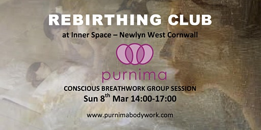 Rebirthing Club First Session in Cornwall!
