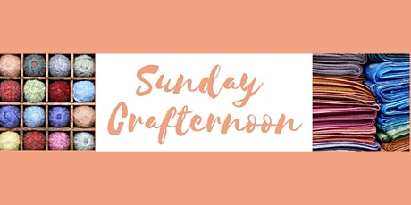 Sunday Crafternoon - monthly craft club and workshops in central Reading tickets