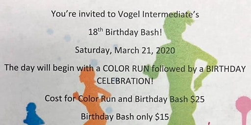 Vogel Color Run and Birthday Bash