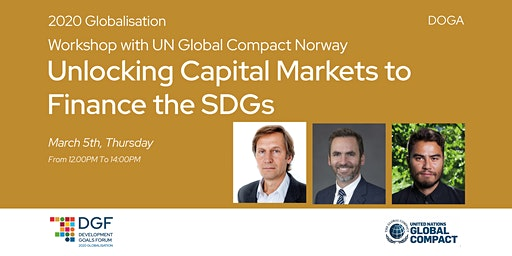 DGF2020 // UNGC // Unlocking Capital Markets to Finance the SDGs