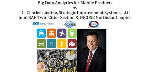 Big Data Analystics for Mobile Products by Dr. Charles Liedtke tickets