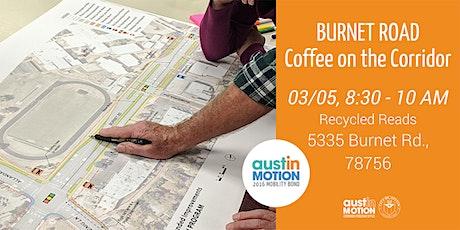 Burnet Road Coffee on the Corridor tickets