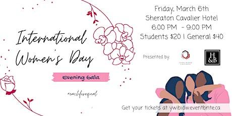 YWiB's Annual International Women's Day Gala tickets