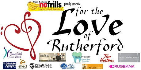 For The Love of Rutherford. Featuring Amy Hef, The Carolines, Lorna Lampman tickets