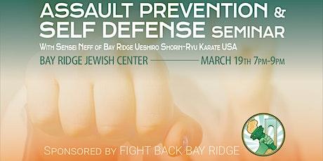 Self Defense Class with Sensei Neff tickets
