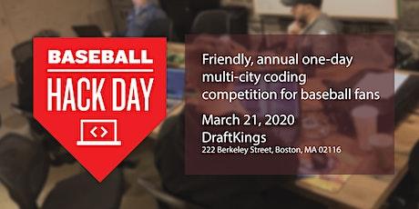 2020 Boston Baseball Hack Day tickets