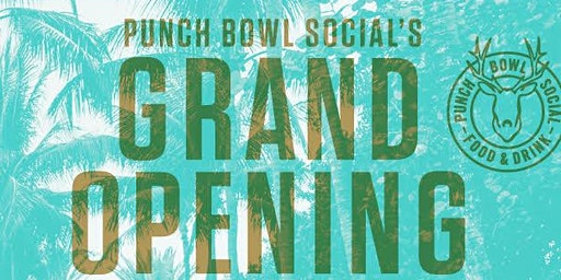 Punch Bowl Social's Grand Opening with DJ Questlove