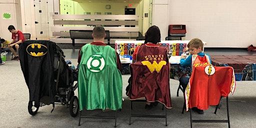 Cameron University Council for Exceptional Children Super Hero Event