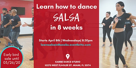 Beginners: Learn how to dance Salsa in 8 weeks tickets