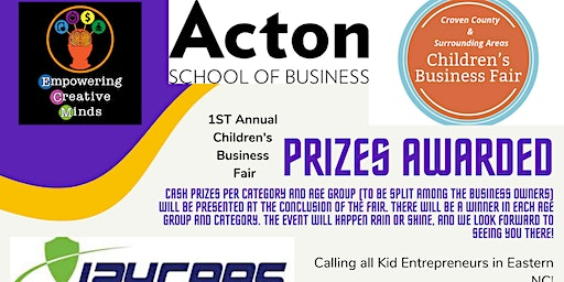 1st Annual Craven County & Surrounding Areas Children's Business Fair
