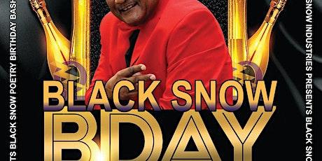 Snow Industries Celebrates Black Snow's Poetry Bday Bash on 3/24 tickets