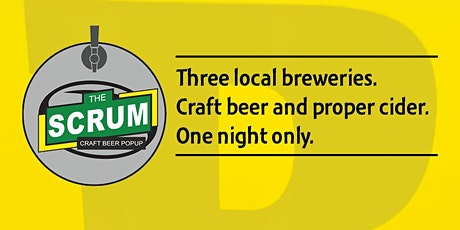 Craft Beer Popup - The Scrum bar at Bracknell Rugby Club tickets