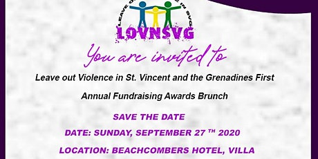 Leave Out Violence in SVG  First Fundraising Awards Brunch tickets