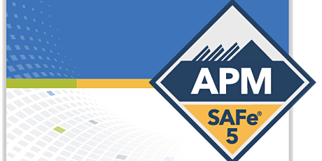Online SAFe Agile Product Management with SAFe®APM 5.0 Certification Sacra tickets