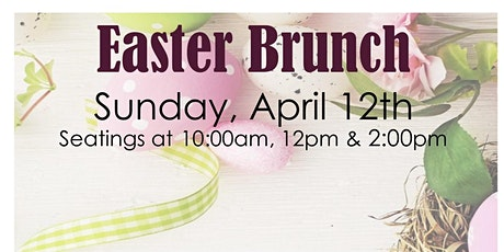 Easter Sunday Brunch tickets