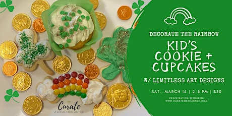 Decorate the Rainbow - Kid's Cookies + Cupcakes (ages 6-12) tickets