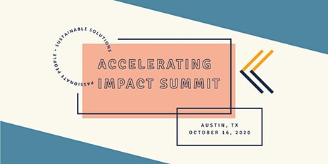 Accelerating Impact Summit 2020 Early Bird Tickets tickets