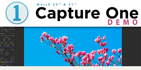 Capture One Pro 20 Overview tickets