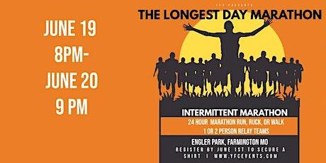 The Longest Day Run or Ruck Marathon (Intermitent Marathon) tickets