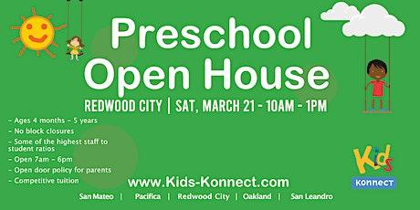 Preschool & Infant Center Open House, Redwood City tickets