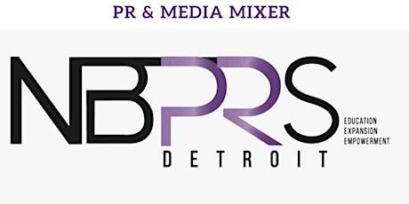 NBPRS Detroit Inaugural PR & Media Mixer tickets