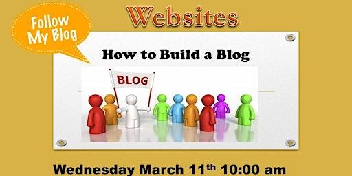 Websites: How to Build a Blog