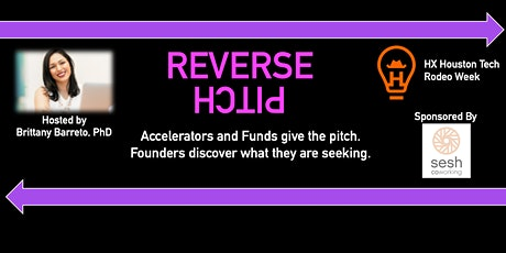Reverse Pitch, Accelerators and Funds with the Ask tickets
