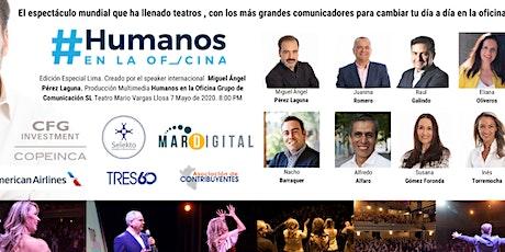 """El espectáculo mundial """"Humanos en la Oficina"""" por primera vez en Lima! entradas"""