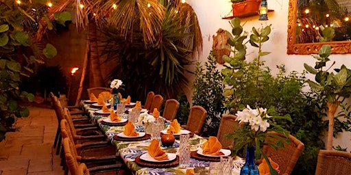 In-home Dining Experience at The Secret Garden: The Cunucu Table