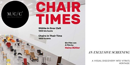 An exclusive screening of Chair Times by Vitra | Creative Connections ep.26 tickets