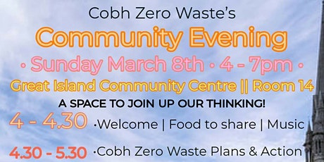 Community Evening with Cobh Zero Waste tickets