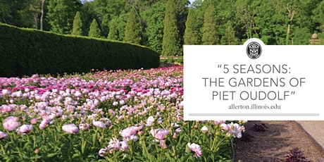 5 Seasons: The Gardens of Piet Oudolf tickets