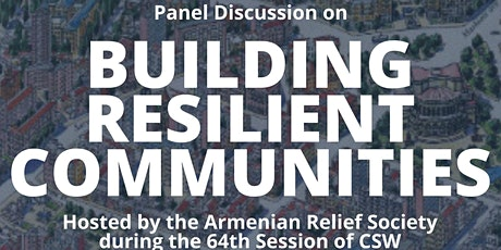 Building Resilient Communities tickets