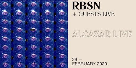 RBSN + Guest live at Alcazar biglietti