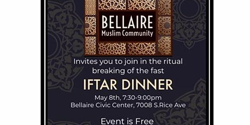 Bellaire Community Iftar