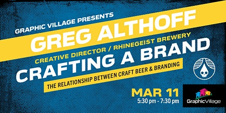 Crafting A Brand: The Relationship Between Craft Beer & Branding tickets