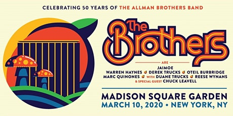 Melillo & Dell Technologies - Allman Brothers at Madison Square Garden 3/10 tickets