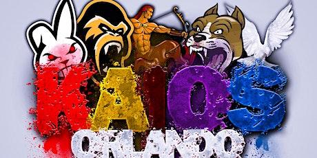 KAOS Orlando tickets
