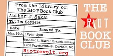 Riot Book Club Launch tickets